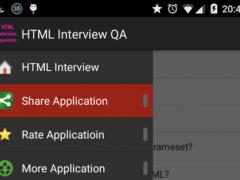 HTML Interview Q&A 1.0 Screenshot