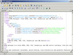 HTML Notepad 1.3 Screenshot
