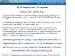 HTML Snapshot 2.1.2015.419 Screenshot