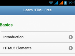 HTML5 Learn Free 1.0.0 Screenshot