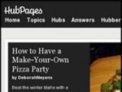 HubPages 0.21.13280.90055 Screenshot