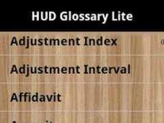 HUD Glossary Lite 1.0 Screenshot