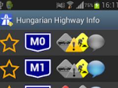 Hungarian Highway Info 1.5.1 Screenshot