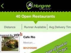 Hungree -Food Delivery Service 1.5 Screenshot