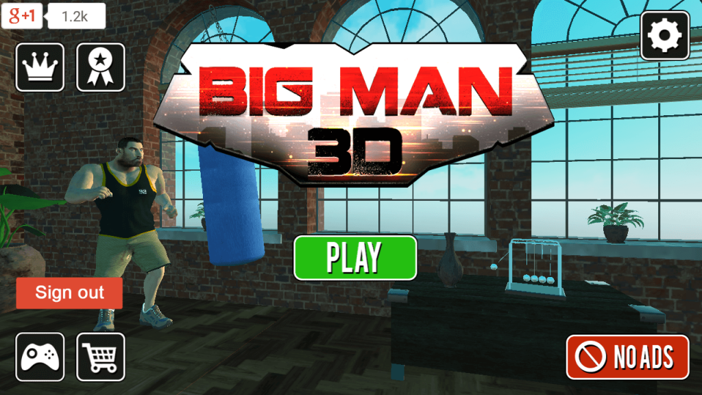 Hunk Big Man 3D