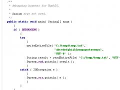 Hunk I/O 1.9 Screenshot