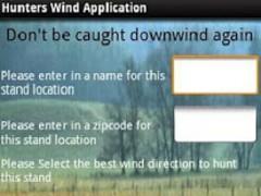 Hunters Wind Direction App 10.0 Screenshot