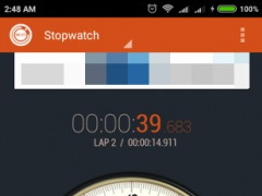Review Screenshot - Stopwatch App – Record the Time of All Your Activities