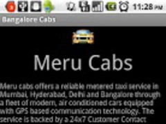 Hyderabad Call Taxis 1.4.6 Screenshot