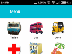Hyderabad Guide - All in one(MMTS, RTC) 0.9.5 Screenshot