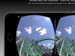 Hydra Roller Coaster - Virtual Reality VR 360 3D 1.0 Screenshot