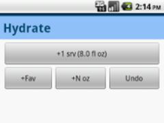 Hydrate 1.5 Screenshot
