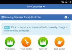 Hydrawise Irrigation 5.4.0 Screenshot