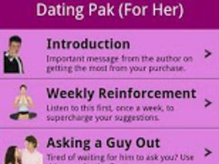 Hypnosis Dating Pak for Her 1.0 Screenshot