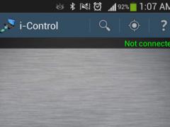 i-Control 1.2 Screenshot