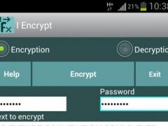 I Encrypt 1.04 Screenshot
