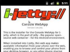 i-Jetty Console Installer 3.1 Screenshot
