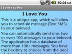 I Love You (Pro) 1.0 Screenshot