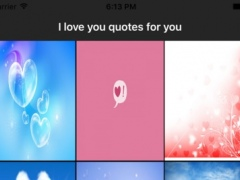 I love you quotes for you 1.0 Screenshot