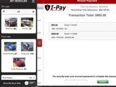 IAA Buyer Salvage Insurance Auctions for iPad 2.0.3 Screenshot