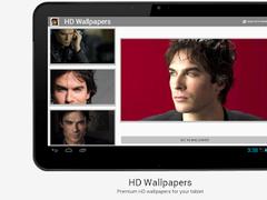 Ian Somerhalder HD wallpapers 2.1 Screenshot