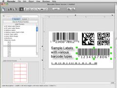 iBarcoder, Mac Barcode Generator 3.9.0 Screenshot