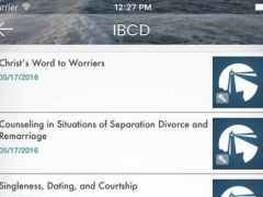 IBCD Resource App 1.2 Screenshot