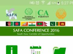 ICAP SAFA Conference 2016 1.3 Screenshot