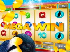 Ice Age Penguins Slots - Win with the best fun snowboard Christmas games 2.0 Screenshot