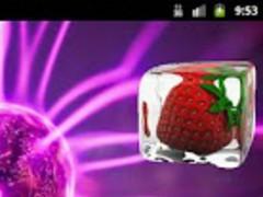 Ice Strawberry Widget 1.1 Screenshot