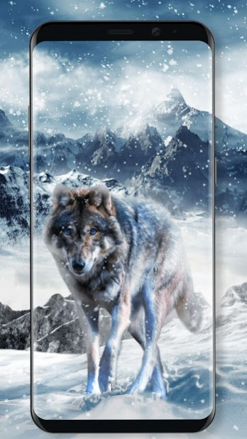 Ice Wolf Live Wallpaper 2.2.0.2510 Free