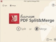 Icecream PDF Split & Merge 3.41 Screenshot
