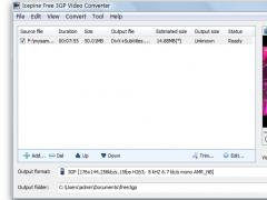 Icepine Free 3GP Video Converter 2.0.3.0 Screenshot