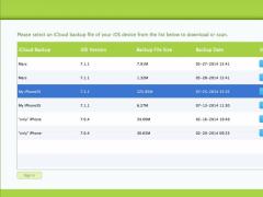 iCloud Extractor for Mac 1.5.0 Screenshot