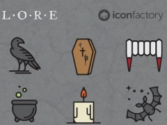Iconfactory Lore Stickers 1.0 Screenshot