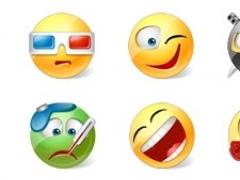 Icons-Land Vista Style Emoticons 3.0 Screenshot
