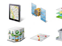 Icons-Land Vista Style GIS/GPS/MAP Icon Set 2.0 Screenshot
