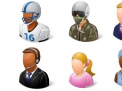 Icons-Land Vista Style People Icons Set 1.0 Screenshot