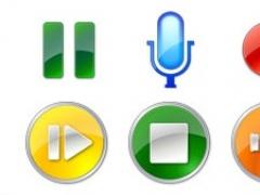 Icons-Land Vista Style Play/Stop/Pause Icon Set 1.0 Screenshot