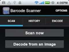 ICS Barcode Scanner 1.3 Screenshot