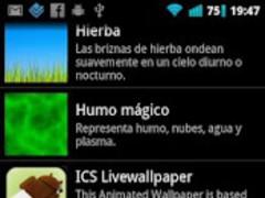 ICS Livewallpaper 1.0 Screenshot