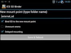 ICS SD Binder 1.4.5 Screenshot