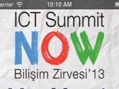 ICT Summit NOW, Bilişim Zirvesi'13 1.2.3 Screenshot