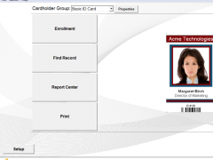 ID Flow Free ID Card Software 6.7 Screenshot