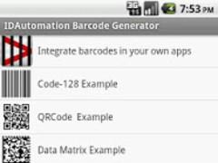 IDAutomation Barcode Generator 1.1 Screenshot