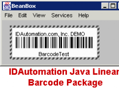 IDAutomation Java Linear Barcode Free Download
