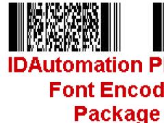 IDAutomation PDF417 Font Encoder Suite Free Download