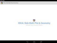 IDEAL Web Math Plots/Geometry 2.4 Screenshot