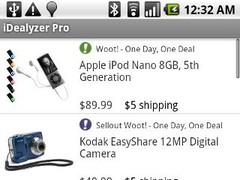 iDealyzer Pro - Daily Deals 1.1 Screenshot