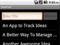 IdeaPad: Idea Notepad 1.11 Screenshot